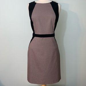 Ann Taylor colorblock slimming dress